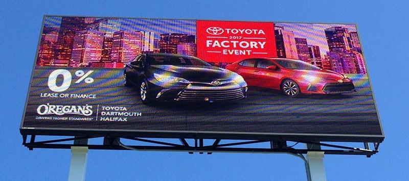 Outdoor digital billboards attract business